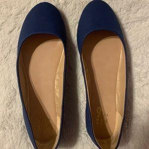 Royal Blue Flats for Women